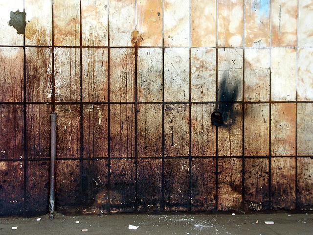 dirty wall