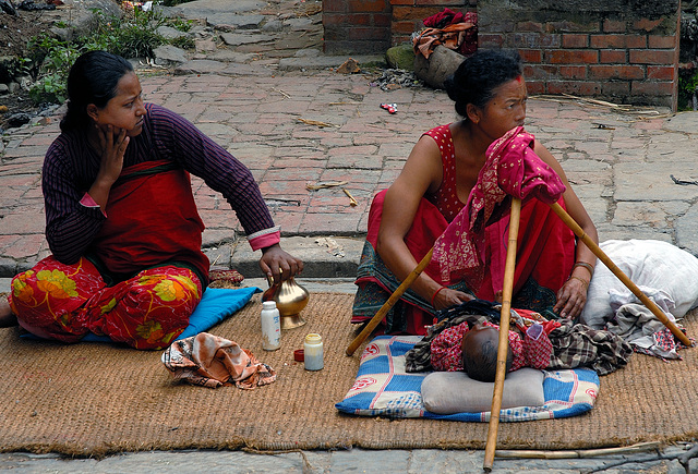 About women life in in Nepal