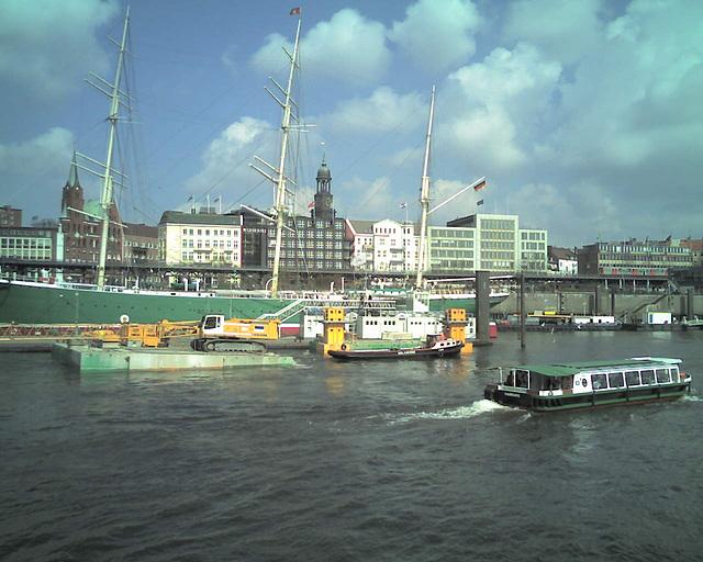 Rickmer Rickmers, Hamburg / 080409 135740
