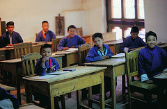 Visit an elementary school in Thimphu