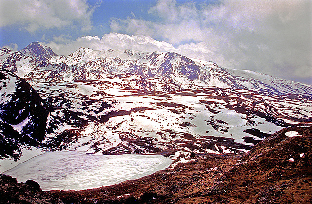 Fantastic panorama view over the plateau