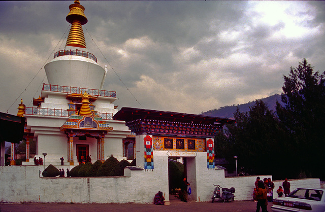 Memorial Chorten in Thimphu
