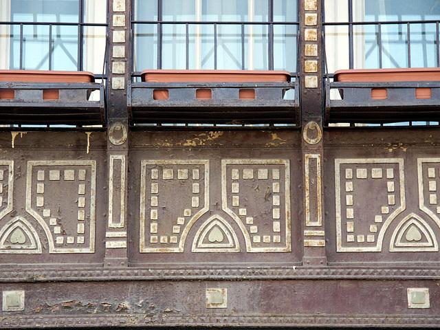 Casa Brück - Timisoara - detaliu