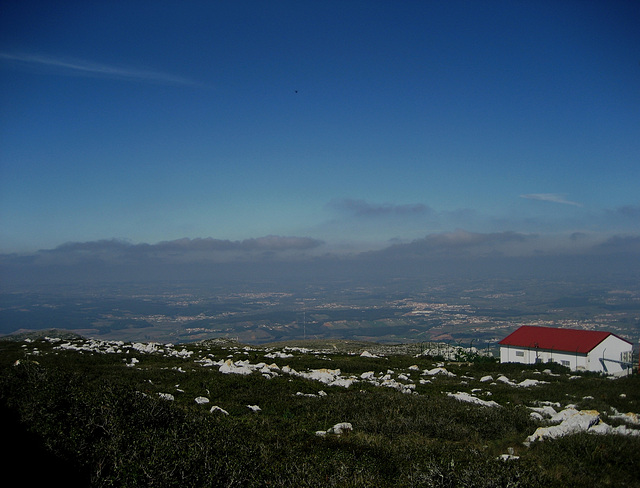 Serra de Montejunto, landscape from the top