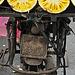 Jackfruit-Driven Motorcycle
