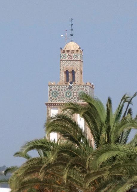 Minarett in Agadir