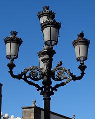 Lampe vor der Kathetrale 2