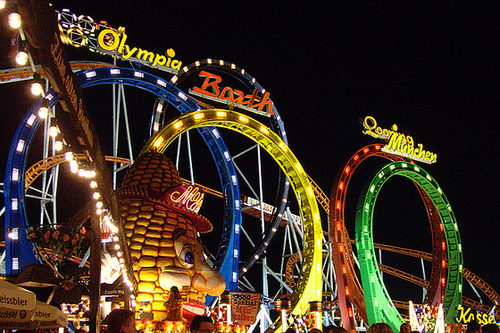 München Olympia Looping rollercoaster