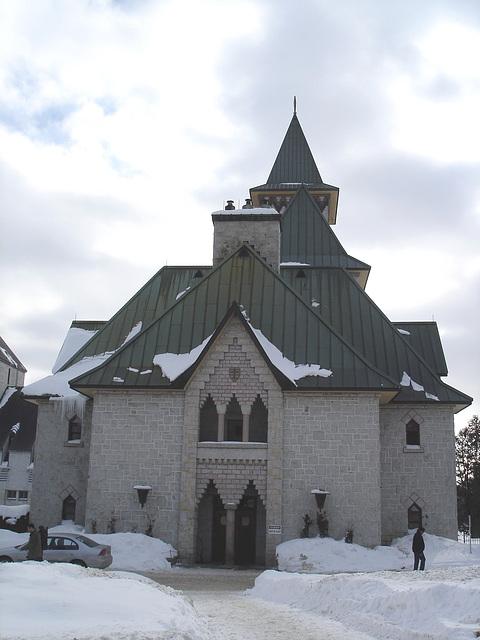 Abbaye / Abbey - St-Benoit-du-lac  /  Québec- CANADA - Février 2009 - Originale