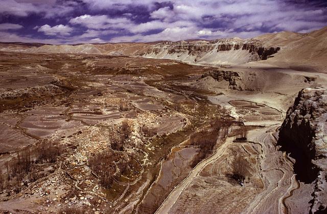 Landscape near Mustang