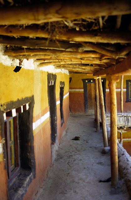 Inside the Namgyal Gompa