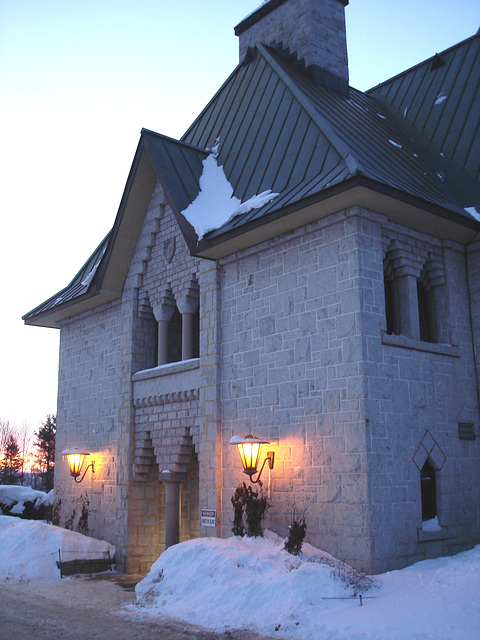 Abbaye / Abbey - St-Benoit-du-lac