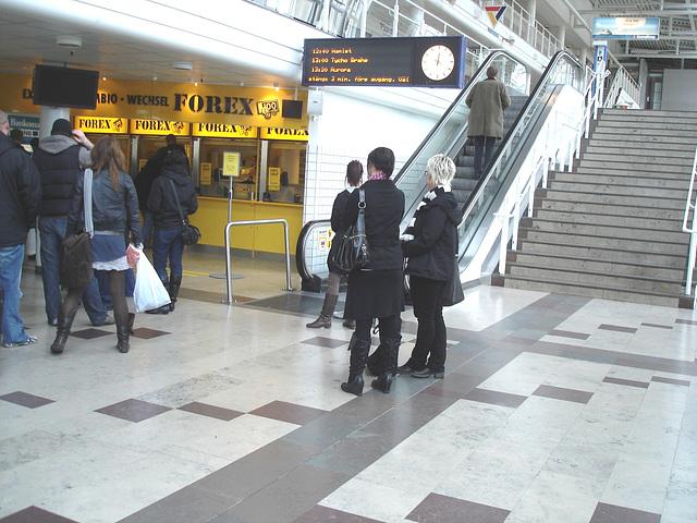 Forex quintet at the Knutpunkten - Helsingborg - Sweden / Suède - 22-10-2008