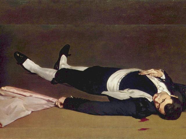 Le Torero mort, œuvre de Edouard Manet