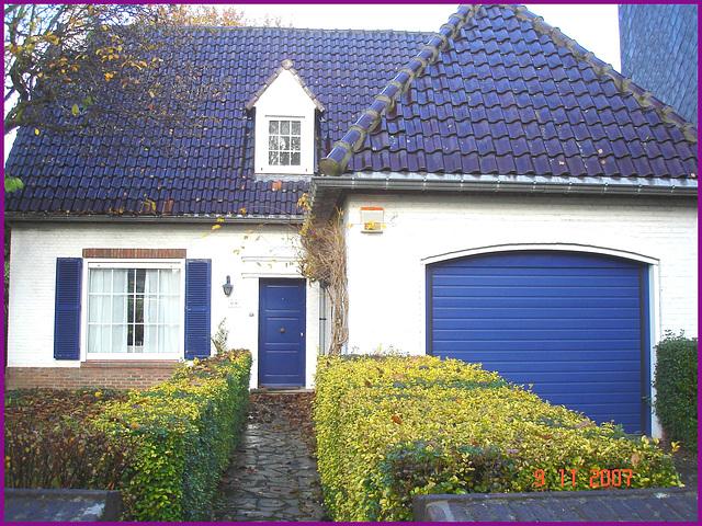 Quartier huppé - Upper crust area pretty Belgian house ..