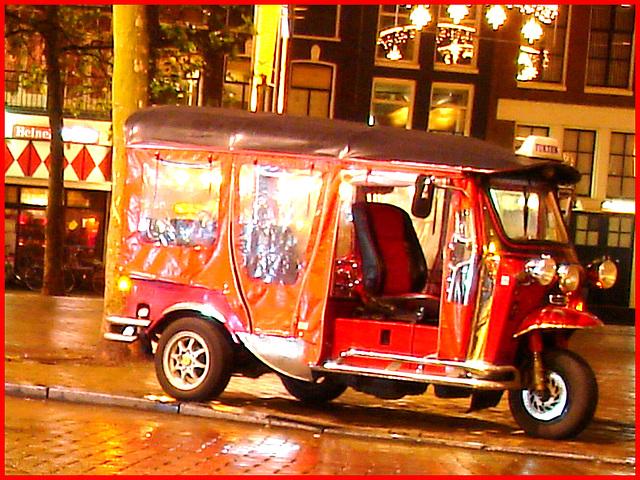 Dutch tuktuk