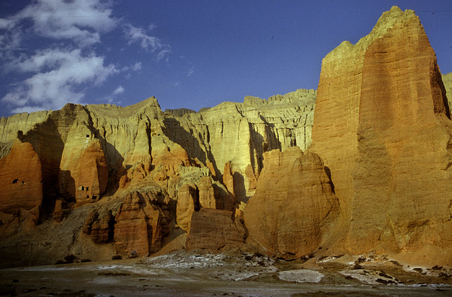 The rocks befor Tramar village