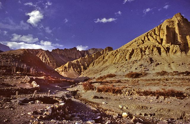 Khola (beck or river) in Tramar