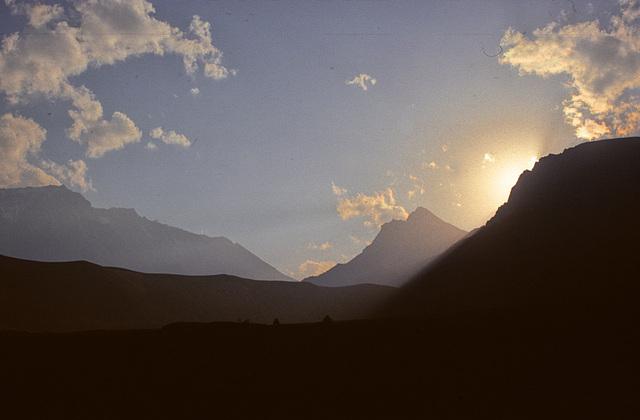 Sunset in Tramar