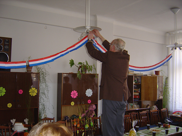 Pendigo de la flaga girlando