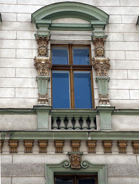 Casa cu Flori - Timisoara - detaliu