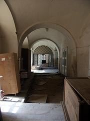 Castelul Huniade - detaliu interior