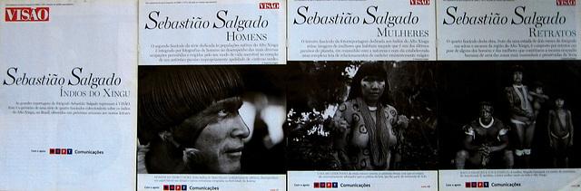 Sebastião Salgado, Great Reportings, Indians from XINGU, Mato Grosso, Brasil