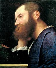 Pietro Aretino, portreto de Ticiano