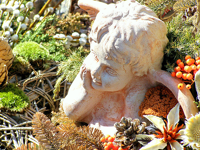 Anĝelo revas - tagträumender Engel