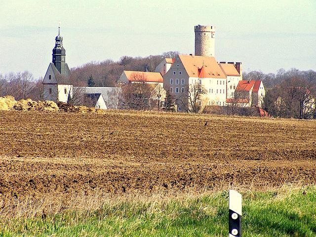 Kirche und Burg Gnandstein