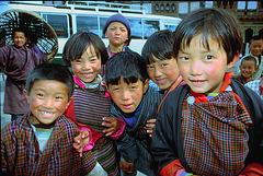 Happy kids in Yatna