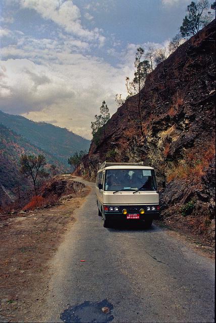 Highway before Tashigang