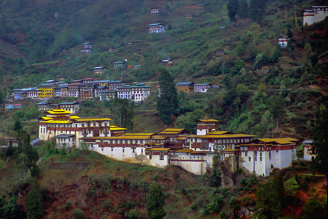 Trongsa, Trongsa Dzong and Ta Dzong