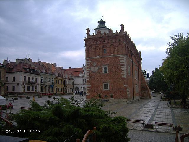 Town Hall in Sandomierz - Ratusz w Sandomierzu