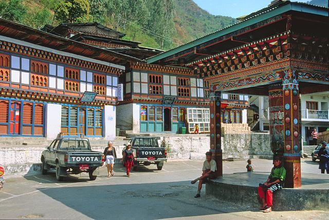 Tashigang city place