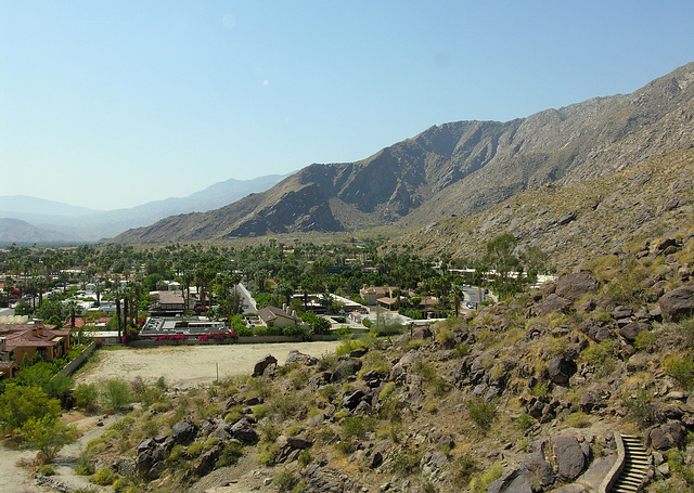 View of Tahquitz Canyon From Russell House (7280)