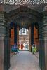 The door into Mani Keshar Chowk in Patan