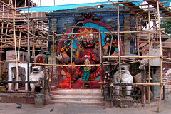 Kal Bhairab statue gets renovation