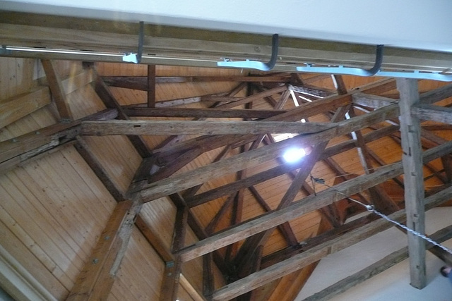 Ipernity Dachstuhlkonstruktion Im Barockschloss By Elbertinum