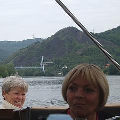 Ausflug auf der Elbe