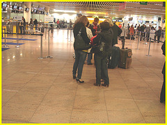 First class and première Quintet -  Brussels airport -19-10-2008
