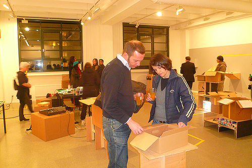 Ausstellung 40 Jahre Mousonturm. Februar 2009
