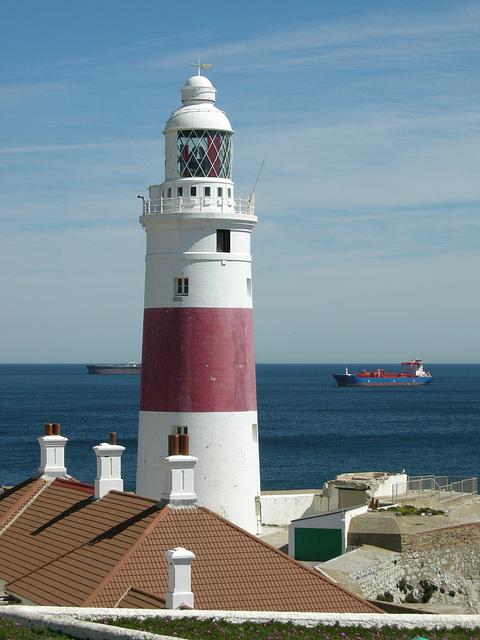 Leuchtturm an der Meerenge von Gibraltar