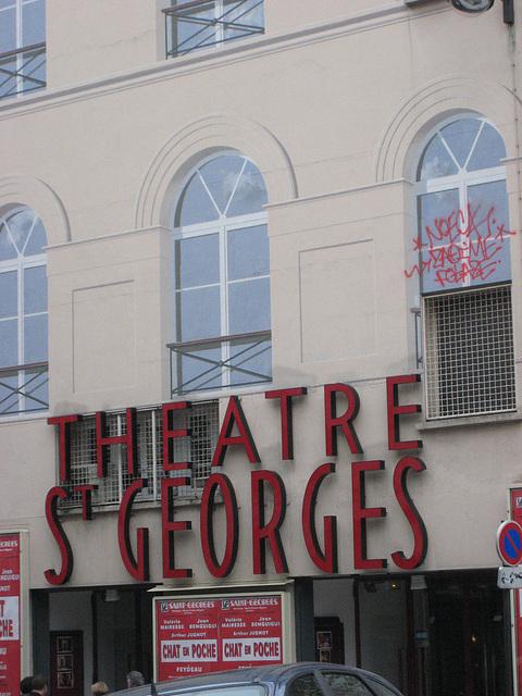 """Sortie Théâtre - pièce : """"Chat en poche"""" 14/03/09"""