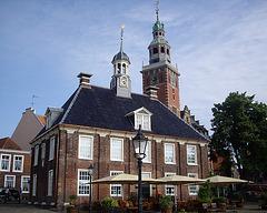 Leer die alte Waage und der Rathausturm