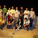 Grupa nokta foto en la malnova urbo de Kvenko