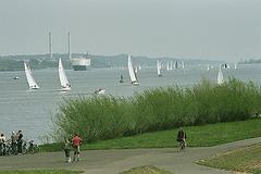 Wochenende an und auf der Elbe