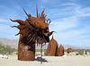 Ricardo Breceda's Dragon sculpture in Galleta Meadows Estate (4490)