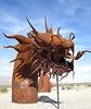 Ricardo Breceda's Dragon sculpture in Galleta Meadows Estate (4492)