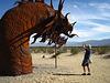 Ricardo Breceda's Dragon sculpture in Galleta Meadows Estate (4500)